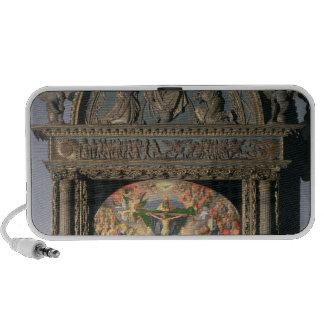 The Landauer Altarpiece, All Saints Day, 1511 Speakers