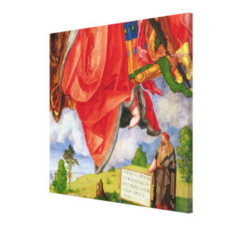 The Landauer Altarpiece, All Saints Day Canvas Print