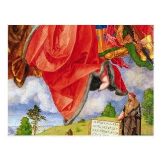 The Landauer Altarpiece, All Saints Day Postcard