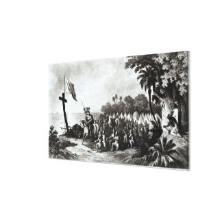 The Landing at Tampa Bay Gallery Wrapped Canvas