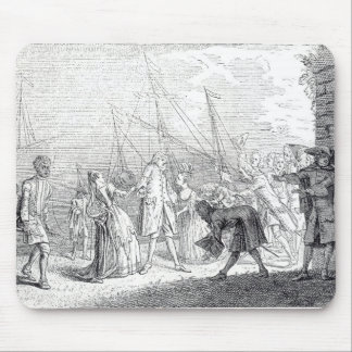 The landing in England of Senesino, 1719 Mouse Pad