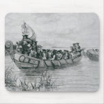 The Landing of Cadillac Mouse Pad