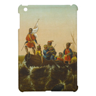 The Landing of Columbus, c.1837 (oil on canvas) iPad Mini Cases