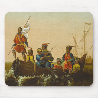 The Landing of Columbus, c.1837 (oil on canvas) Mouse Pad