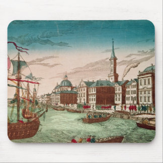 The Landing of English Troops at New York Mouse Pad
