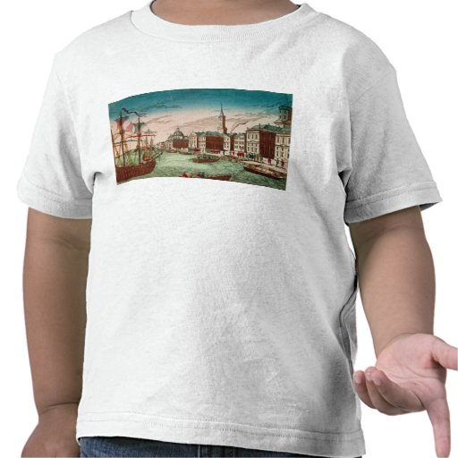 The Landing of English Troops at New York Shirt