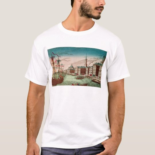 The Landing of English Troops at New York T-Shirt