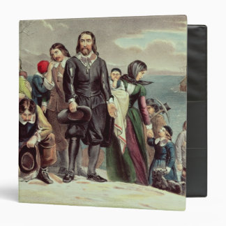 The Landing of the Pilgrims at Plymouth Binder