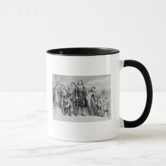The Landing of the Pilgrims Mug