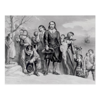 The Landing of the Pilgrims Postcard