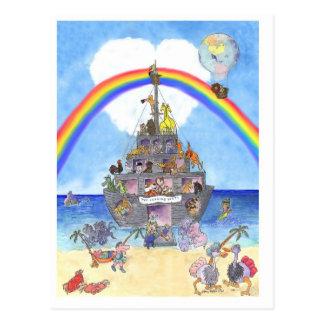 The Landing Party II, Noah's Ark postcard