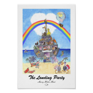 The Landing Party Print - Customized