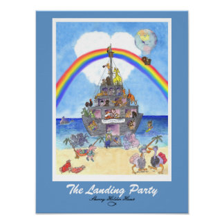 The Landing Party Print