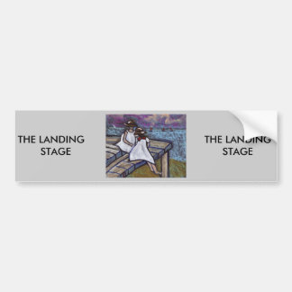 THE LANDING STAGE BUMPER STICKER