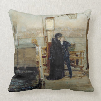 The Landing Stage Throw Pillow