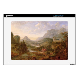 """The Landscape of The Rhine 15"""" Laptop Decal"""