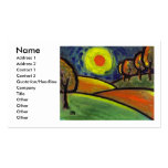 THE LANDSCAPE OIL PASTEL AND ACRYLIC, Name, Add... Business Cards