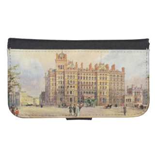 The Langham Hotel, Portland Place, London W. Wallet Phone Case For Samsung Galaxy S4