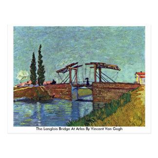 The Langlois Bridge At Arles By Vincent Van Gogh Postcard