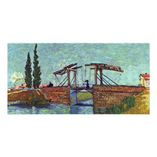 The Langlois Bridge At Arles (The Drawbridge) Card