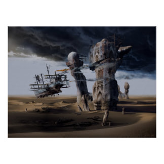 The Langoliers or Inevitable Entropy, framed print