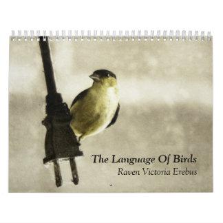 The Language Of Birds Calendars