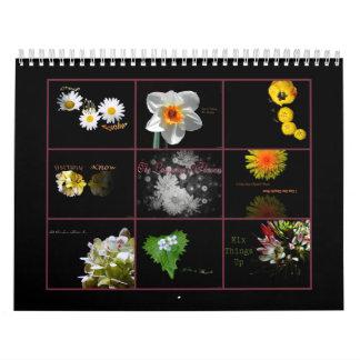 The Language of Flowers Calendar #2