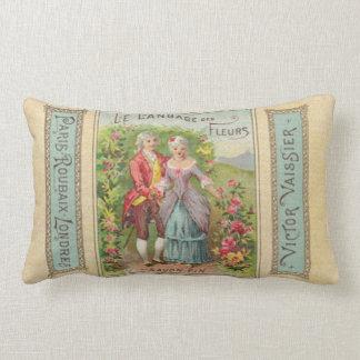 The Language of Flowers Lumbar Pillow