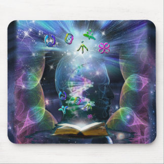 The Language of Light Mouse Pad