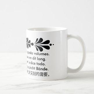 The Language of Love Classic White Coffee Mug