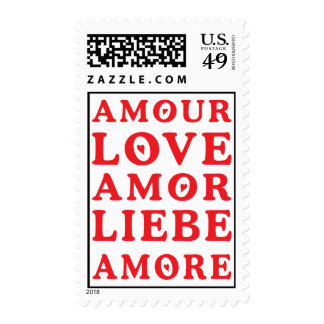 The Language of Love Postage