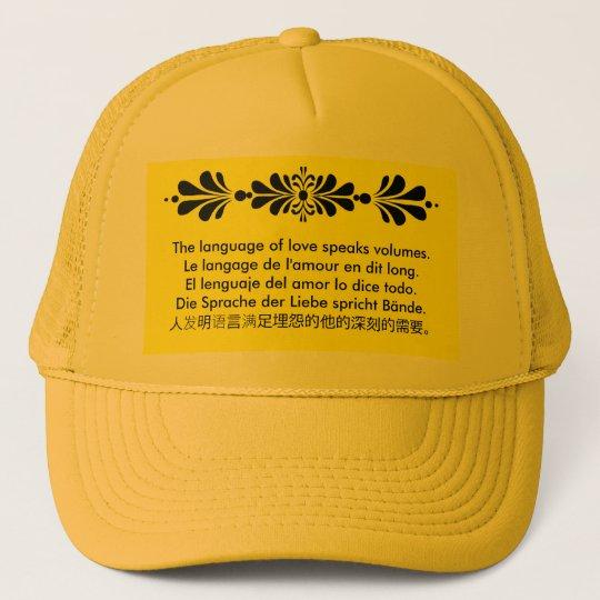 The Language of Love Trucker Hat