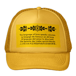 The Language of Love Trucker Hat