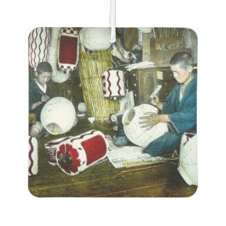 The Lantern Painter Craftsman Vintage Japan No 2 Car Air Freshener