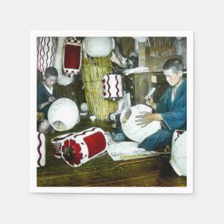 The Lantern Painter Craftsman Vintage Japan No 2 Napkin