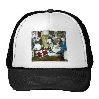 The Lantern Painter Craftsman Vintage Japan No 2 Trucker Hat
