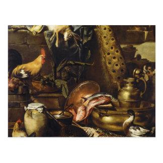 The Larder By Antonio Maria Vassallo Postcard