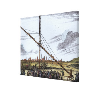 The Large Astronomical Telescope Canvas Print