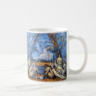 The Large Bathers by Paul Cezanne Coffee Mug