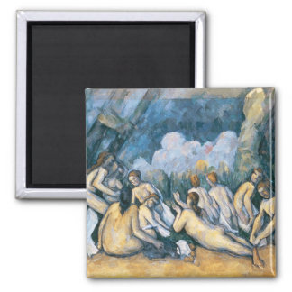 The Large Bathers, c.1900-05 2 Inch Square Magnet