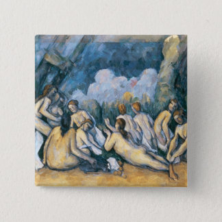 The Large Bathers, c.1900-05 Pinback Button