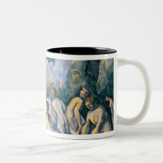 The Large Bathers, c.1900-05 Two-Tone Coffee Mug