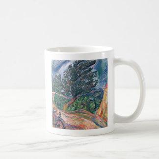 The Large Blue Tree, c.1940-42 Coffee Mug