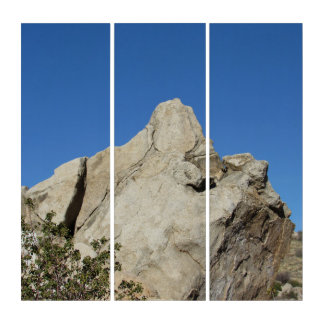 The Large Boulder Triptych
