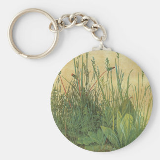 The Large (Great) Piece of Turf by Albrecht Durer Key Chains