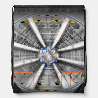 The Large Hadron Collider Cinch Bag