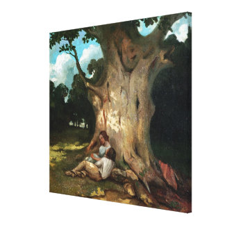The Large Oak Canvas Print