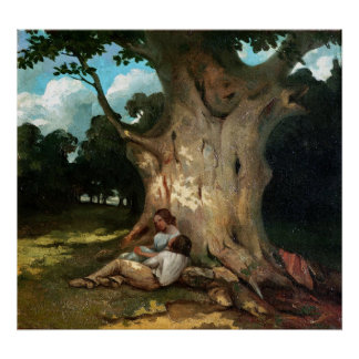 The Large Oak Poster