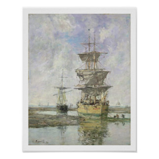 The Large Ship, 1879 (oil on canvas) Poster