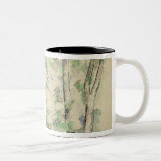 The Large Trees at Jas de Bouffan, c.1885-87 (w/c Two-Tone Coffee Mug
